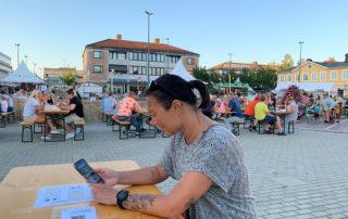 Ljungbydagarna Lokal stadsfestival med matvagnar